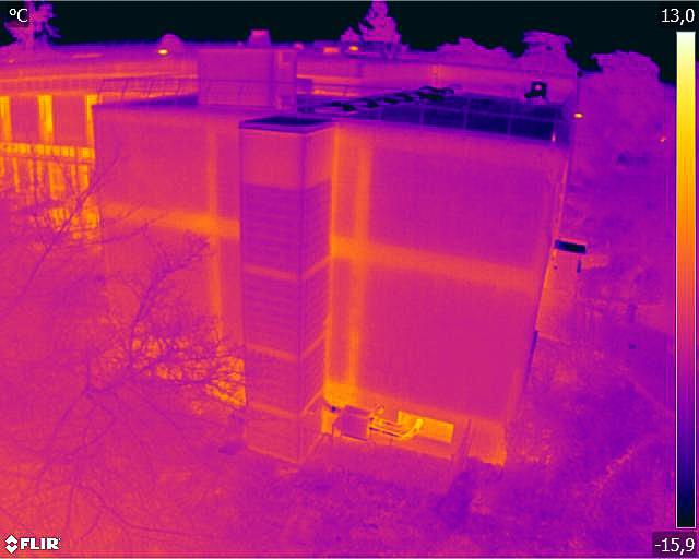 detection fuite thermique par drone