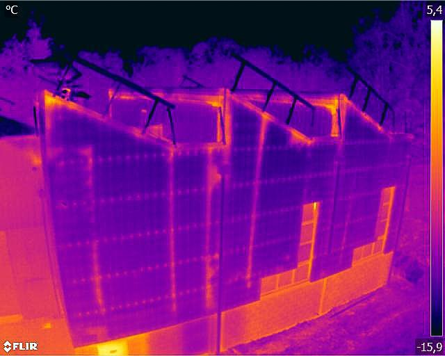 fuite thermique drone