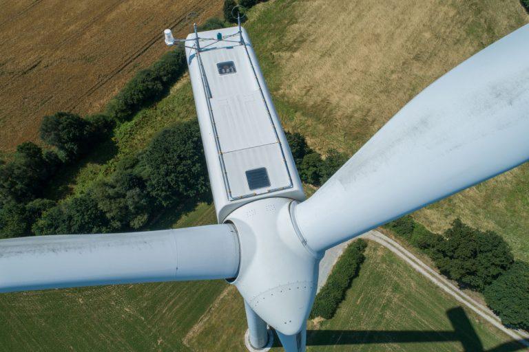 inspection eolienne par drone