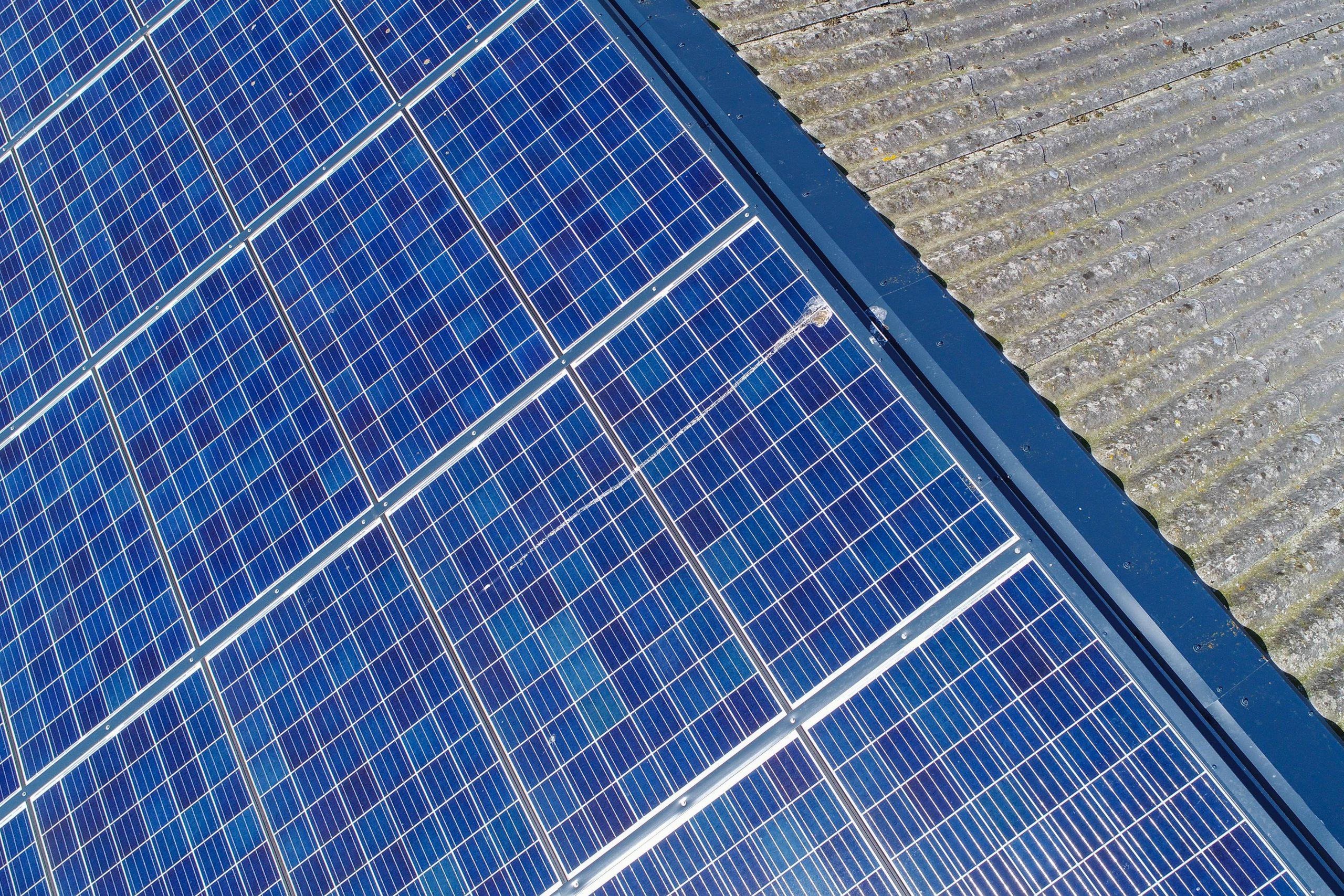thermographie drone panneaux photovoltaique