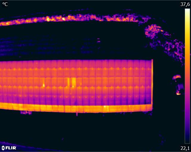 panneaux photovoltaïques par drone