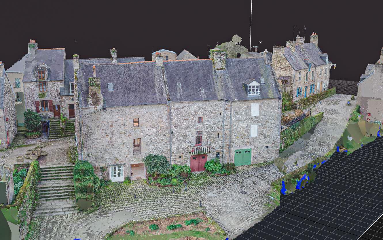 modelisation 3d par drone