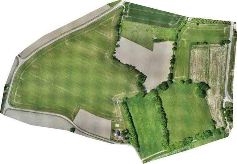 orthophoto pour plan topographique