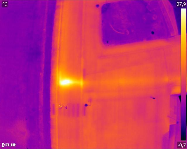 fuites thermique drone